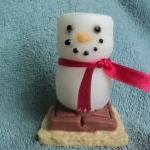 S'mores Snowman Soap - Toasted Mars..