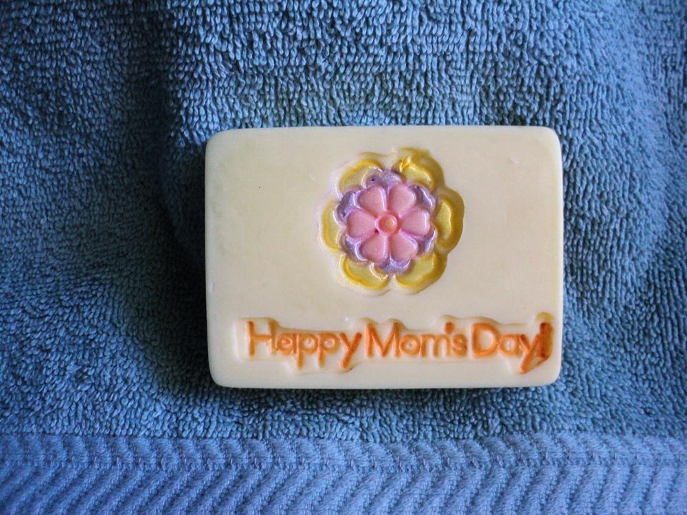 Happy Mom's Day Soap