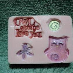 Valentine Soap - Owl Always Love You - Pink Sugar Scent