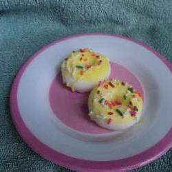 Mini Donut Soap Set - Lemon Pound Cake
