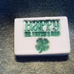St. Patrick's Day Soap - Cucumber Melon Scent
