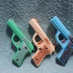 Mini Gun Soap Set - Polo Blue,Cool Water,Old Spice