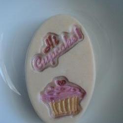 Hi Cupcake Soap - French Vanilla Cake Scent